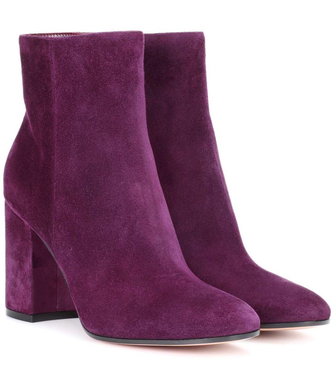 botines ultra violet personal shopper Elche