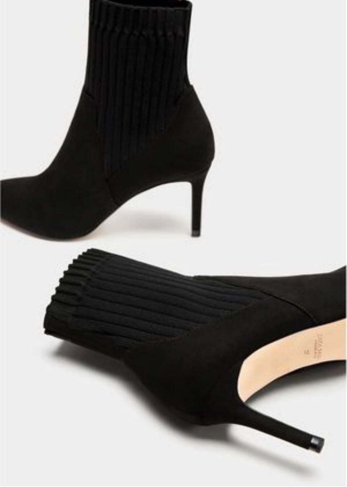 botines calcetín zara carolina personal shopper rebajas