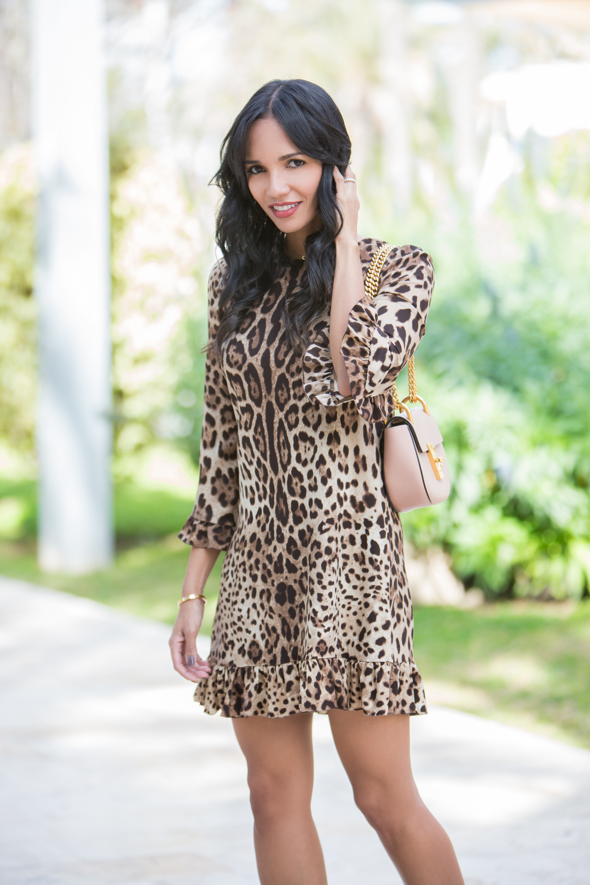Vestido leopardo print Carolina Personal Shopper blog