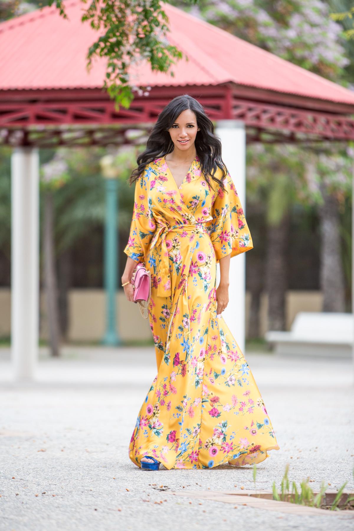 BBC Personal Shopper Vestido Floral Etxart & Panno