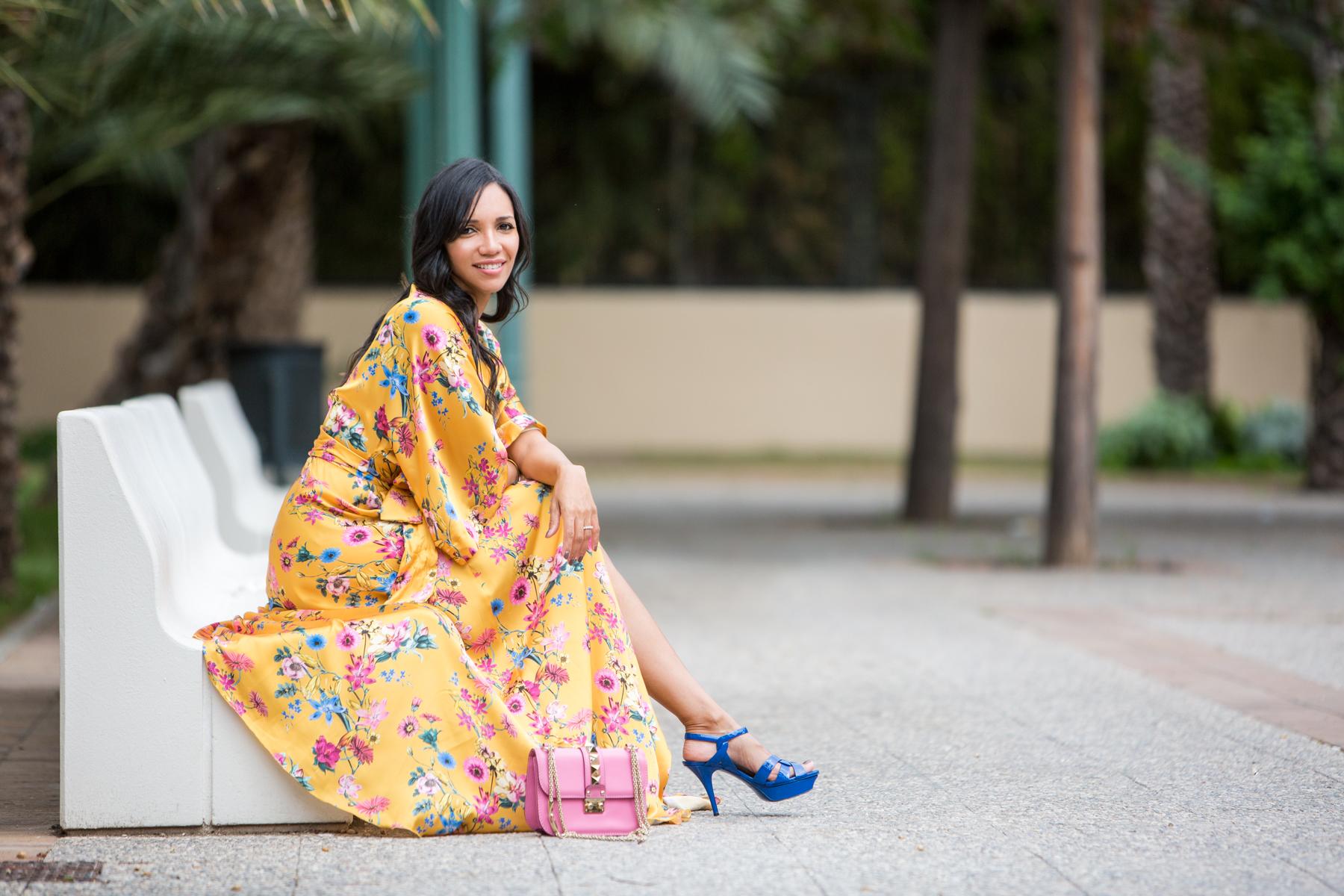 Carolina Personal Shopper Vestido Floral BBC
